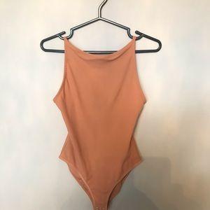 Nude TopShop Bodysuit